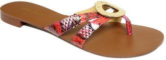 Nine West Shoes, Racket Thong Sandals