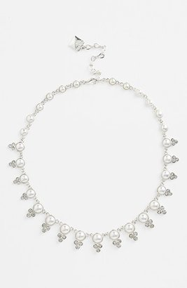 Anne Klein Faux Pearl Collar Necklace