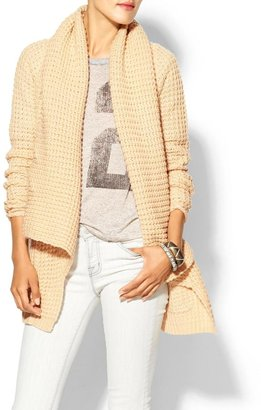 See by Chloe THML Clothing Textured Wrap Sweater