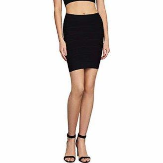 BCBGMAXAZRIA Women's Simone Bandage Skirt