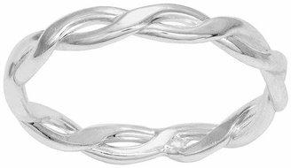 ITSY BITSY itsy bitsy Sterling Silver Braided Band Ring