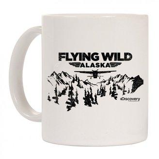 Discovery Flying Wild Alaska Trees Mug