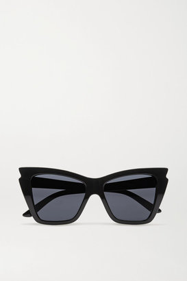 Le Specs Rapture Cat-eye Acetate Sunglasses - Black