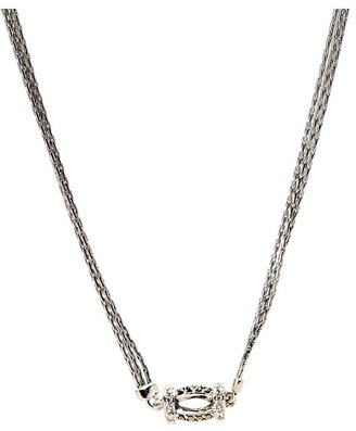 Judith Jack 60273097 Tassels 16/18 Frontal Necklace (Marcasite) - Jewelry