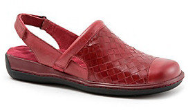 "SoftWalk Salina Woven"" Casual Slingback Shoe"