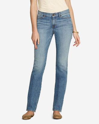 Eddie Bauer Women's Curvy Straight Leg Jeans