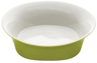 Rachael Ray Round and Square 10 in. Round Serving Bowl in Green