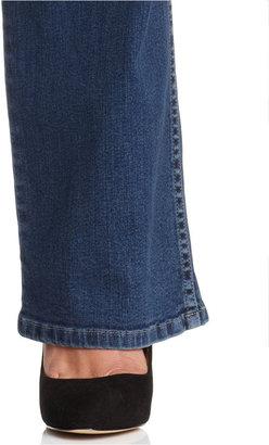 Lee Platinum Plus Size Mallory Barely Bootcut Jeans, Vintage Wash