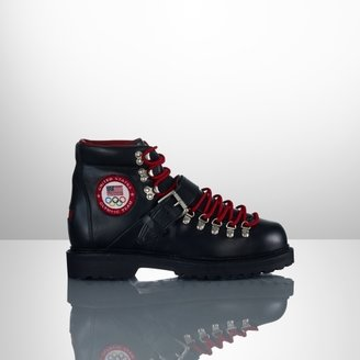 Polo Ralph Lauren Team USA Ceremony Leather Boot