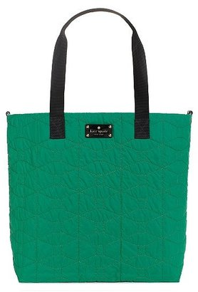 Kate Spade Signature spade quilted baby bon shopper bag