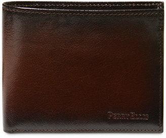 Perry Ellis Portfolio Men Leather Michigan Slim Ombre Bifold Wallet