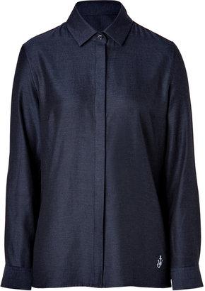J.W.Anderson Cotton Twill Classic Shirt