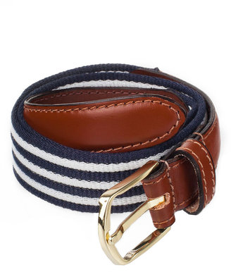 American Apparel Striped Web Belt
