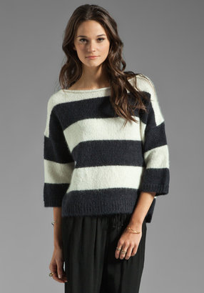 Juicy Couture Striped Pullover Sweater