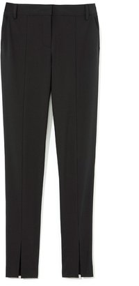 Tibi Tropical Wool Slim Pant