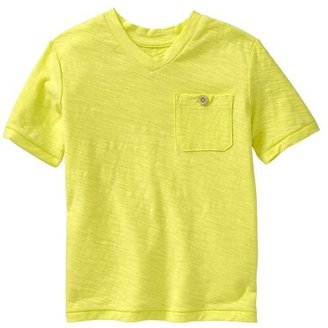 Gap Slub V-neck T