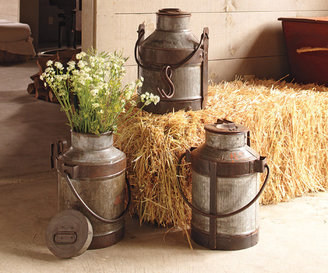 Napa Style Vintage Milk Canisters