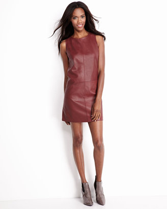 Bagatelle Perforated Leather Dress