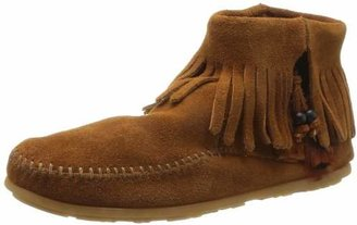 Minnetonka Women's Concho/Feather Side Zip Boot $55.95 thestylecure.com