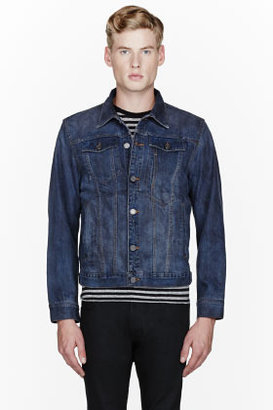 Marc by Marc Jacobs Indigo Denim Classic Jacket