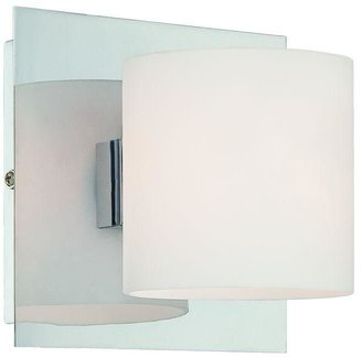 Eurofase Geos Collection 1-Light Chrome Wall Sconce