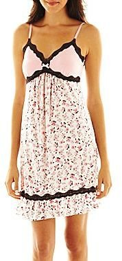 JCPenney Insomniax® Multi Print Chemise