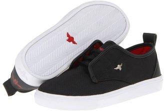 Creative Recreation Lacava (Little Kid) (Black Ripstop) - Footwear