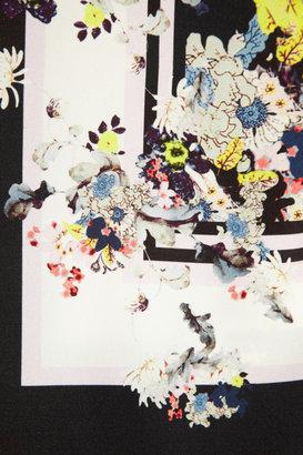 Erdem Amani printed silk-crepe top