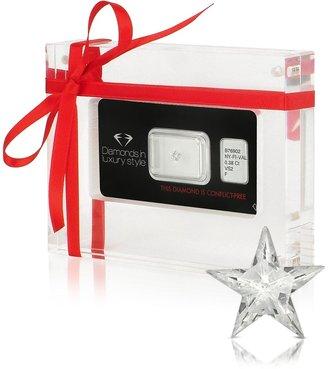 Amin Luxury 0.38 Carat Rising Star Cut Diamond