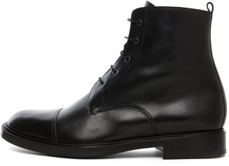 Pierre Hardy Lace Up Boot in Black