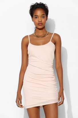 Sparkle & Fade Ruched Mesh Slip