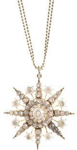 Renee Lewis Star Burst Necklace