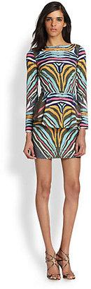Mara Hoffman Phoenix Peplum Mini Dress