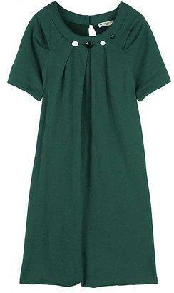 Erotokritos Button neck dress