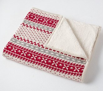 Pottery Barn Kids Fairisle Throw