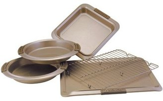 Anolon 5-pc. Nonstick Bronze Collection Bakeware Bakeware Set