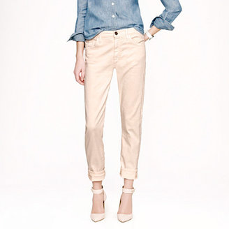 J.Crew Goldsign® for Jeane jean in peach wash
