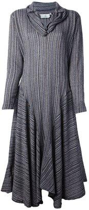 Norma Kamali Vintage 1980s stripe dress