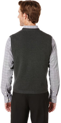 Perry Ellis Cotton 5 Button Milano Vest