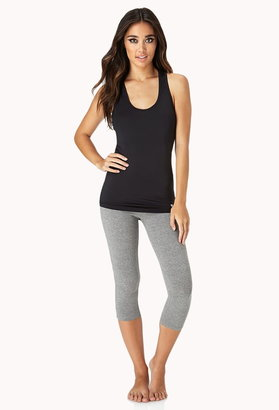 Forever 21 Active Contrast Racerback Workout Tank