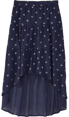 Old Navy Girls Tiered Hi-Lo Skirts