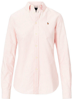 Polo Ralph Lauren Custom Fit Striped Shirt $89.50 thestylecure.com