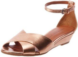 Marc by Marc Jacobs Women's Ankle Strap Open-Toe Wedge Sandal (Rubber Sole)