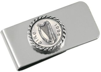 American Coin Treasures Irish Five-Pence Money Clip
