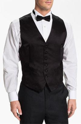 Men's David Donahue Silk Vest $195 thestylecure.com