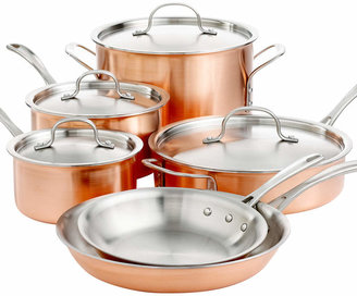 Calphalon Tri Ply Copper 10 Piece Cookware Set