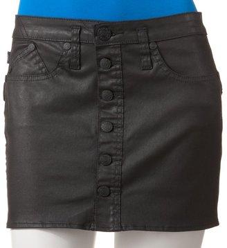 Rock & Republic vip coated miniskirt