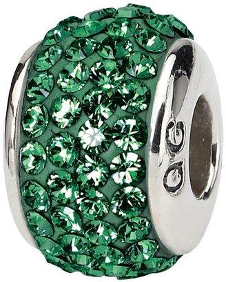 Swarovski Prerogatives Sterling Green Full Crystal Bead