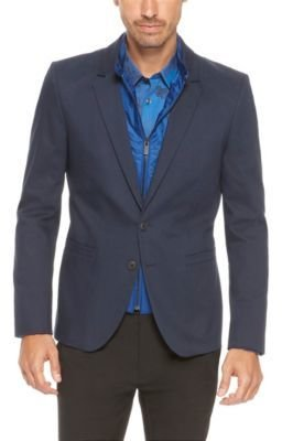 HUGO BOSS 'Ayan' - Extra Slim Fit, Stretch Cotton Sport Coat with Detachable Lining