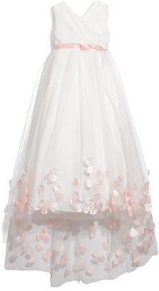 Joan Calabrese for Mon Cheri Tulle & Taffeta Floor Length Dress (Little Girls & Big Girls)